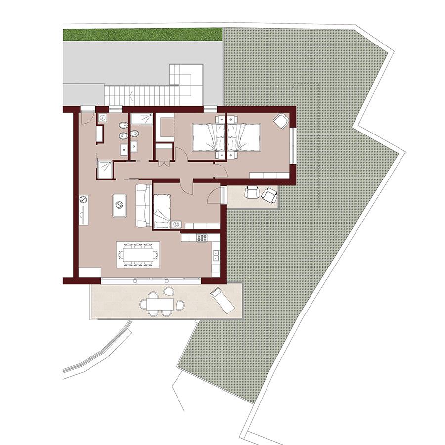 Residenza Camilla | Piano Terra Sud