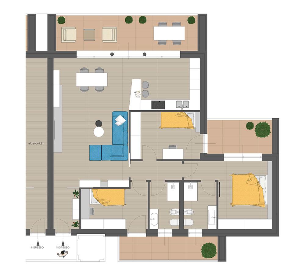 GFA Immobiliare | Residenza Camilla - Primo Piano