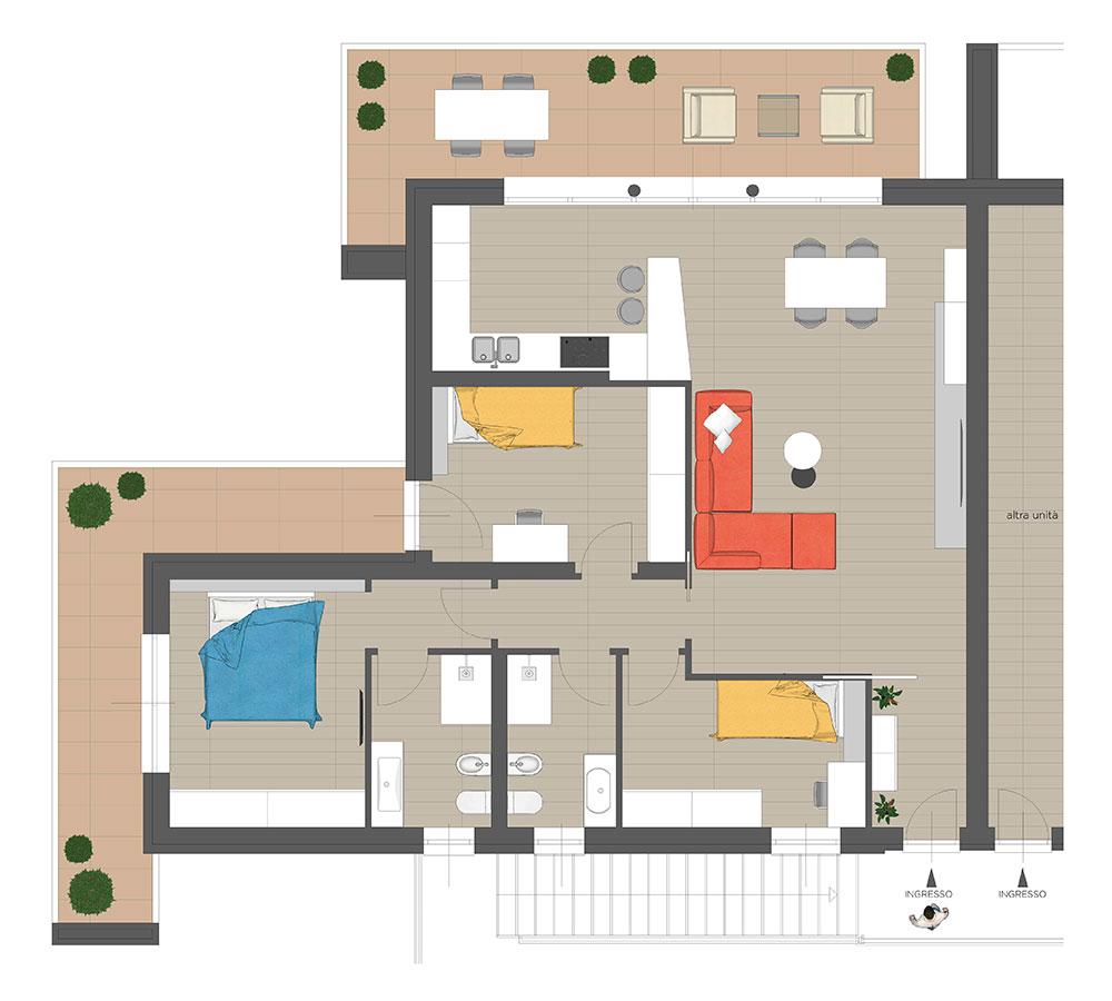 GFA Immobiliare | Residenza Camilla - Primo Piano Sud