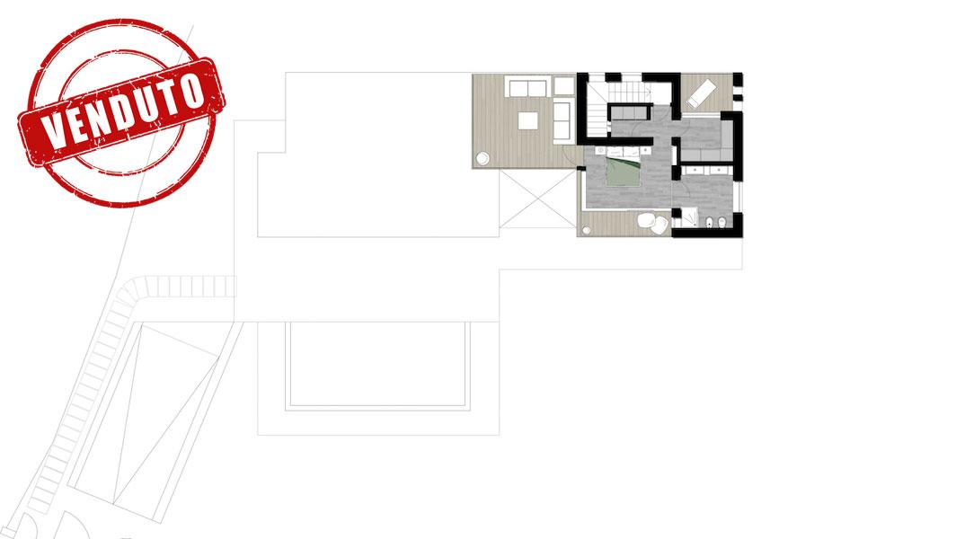Ville dei Beati - Villa C - Primo piano