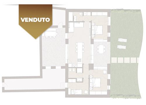 Corte Casara | Appartamento 1 | VENDUTO