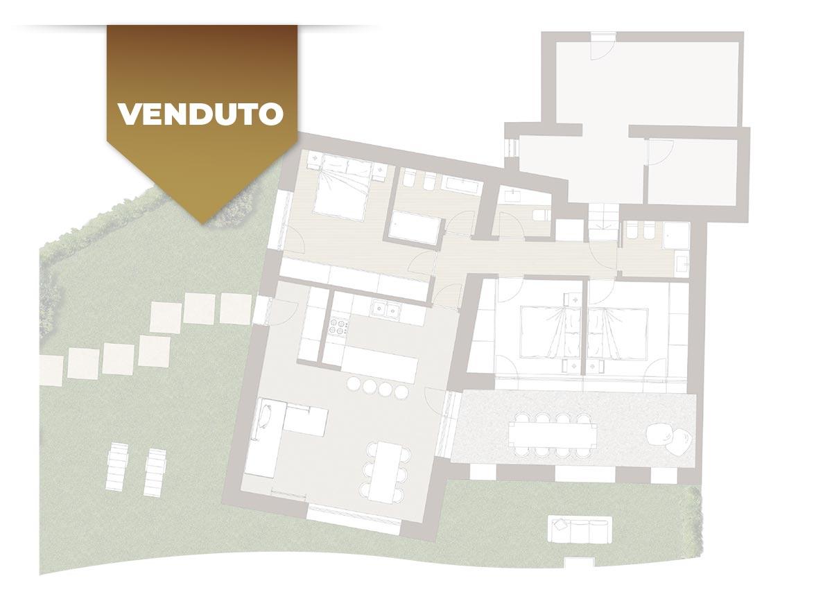 Corte Casara | Appartamento 3 | VENDUTO