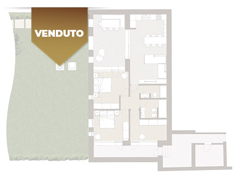Corte Casara | Appartamento 2 | Venduto