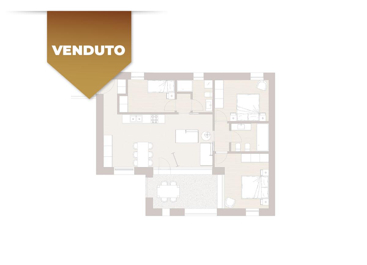 Corte Casara | Appartamento 11 | VENDUTO