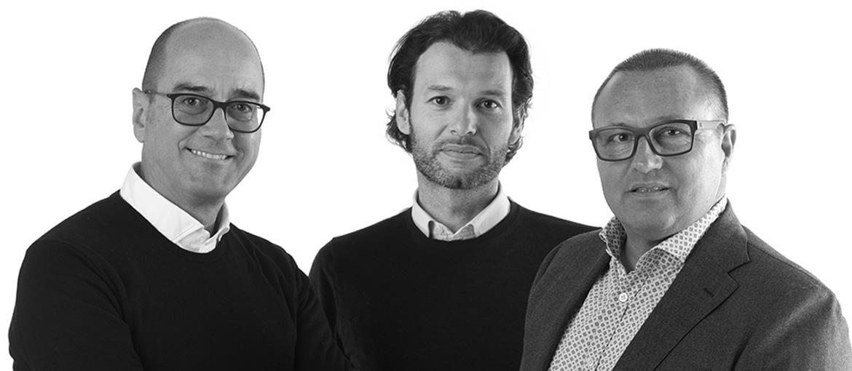 Giovanni Zobele, Andrea Maistri e Francesco Danieli | GFA Immobiliare